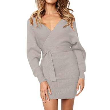 6997a0fb97 Robe Longue Femme Chic Hiver