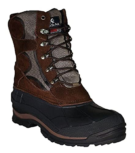 Amazon.com | EURBAK MEN'S EXTRA WIDE WIDTH WINTER BLACK BOOTS ...