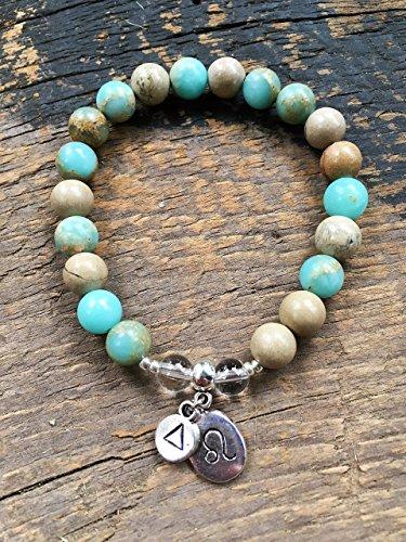 Womens Leo Zodiac Bracelet | Inner Peace | Balancing | Gift for Her