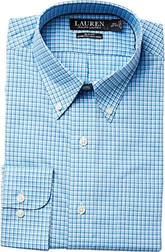 Straight Collar Broadcloth Shirt - 1