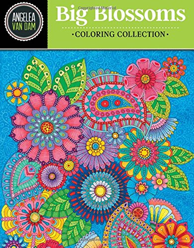 (Hello Angel Big Beautiful Blossoms Coloring Collection (Hello Angel Coloring Collection) )