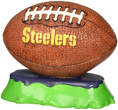 Pets First NFL Pittsburgh Steelers Football Aquarium Tank Ornament