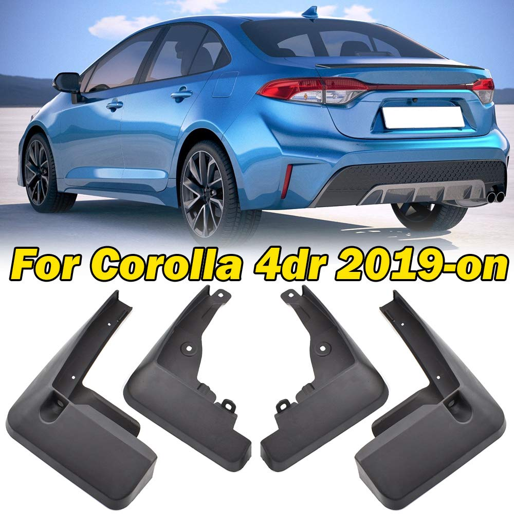 RAV4 Hybrid 2019 2020 4Pcs Car Mud Flaps Splash Guard Mudguard for Toyota RAV4