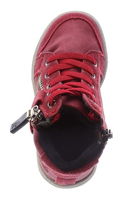 347061eff97050 Kinder Knöchel Schuhe Sneaker Schnürer gefüttert Jungen Mädchen Halbhoch  Wild Leder Gr. 25-30  Amazon.de  Schuhe   Handtaschen