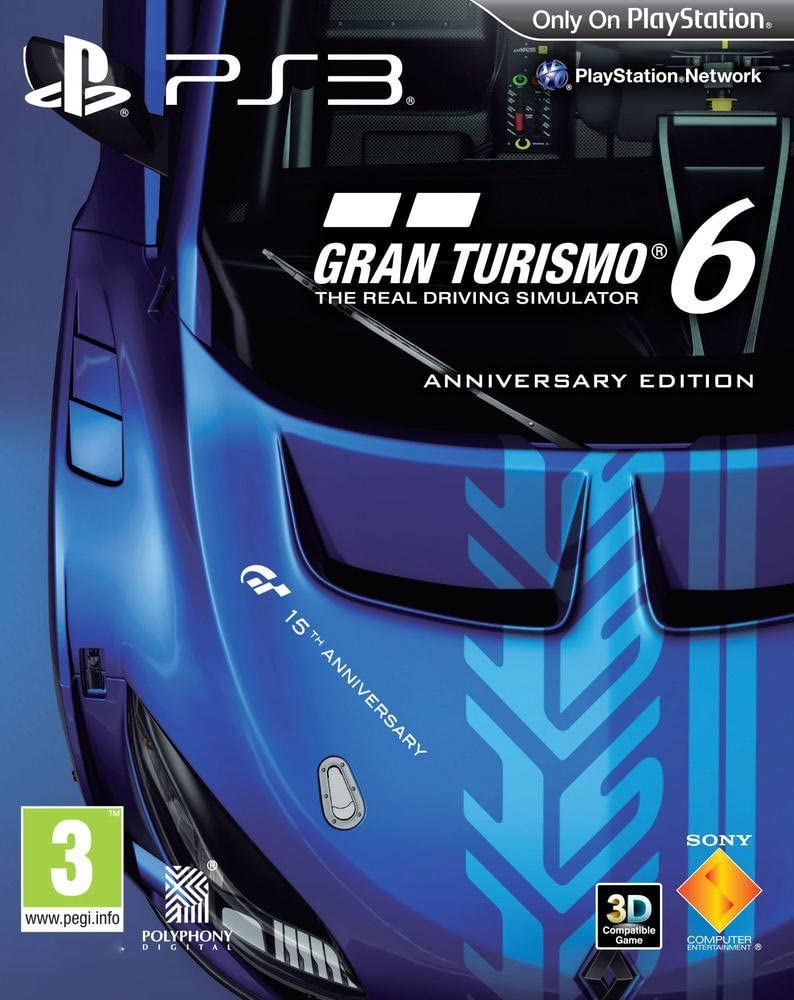 Gran Turismo 6 PS3 - Play Station 3