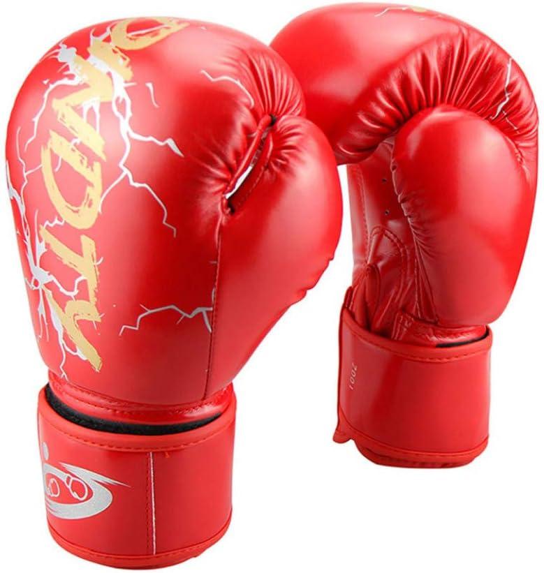 ERHUAN 6//8//10 12Oz Kinder Erwachsene Frauen M/änner Boxhandschuhe MMA Sanda Muay Thai Boxhandschuhe Pro Punch Trainingsger/äte, ,