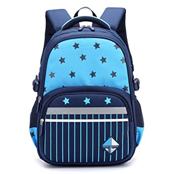 XHHWZB Mochila de niños Mochila para niños Mochila de Viaje Informal para Primaria (Color : Azul): Amazon.es: Deportes y aire libre