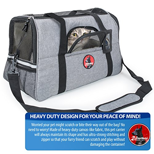 2 Brothers Wholesale Airline-Approved Pet Carrier