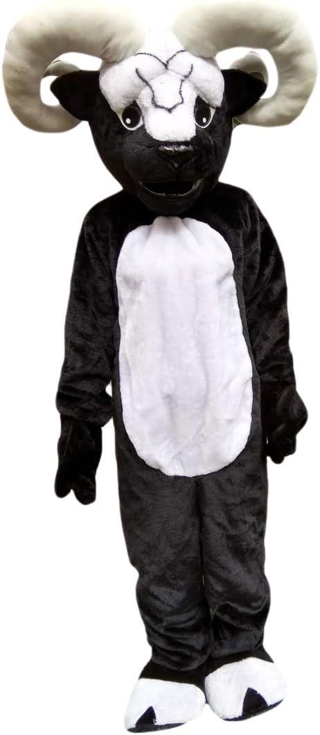 Langteng - Mascota de Oveja de Cabra Negra con Imagen Real de 15 ...