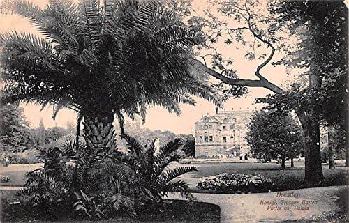 Konigal Grosser Garten Dresden Germany Postcard At Amazons