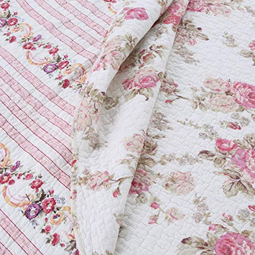 Buy shabby chic queen size quilt
