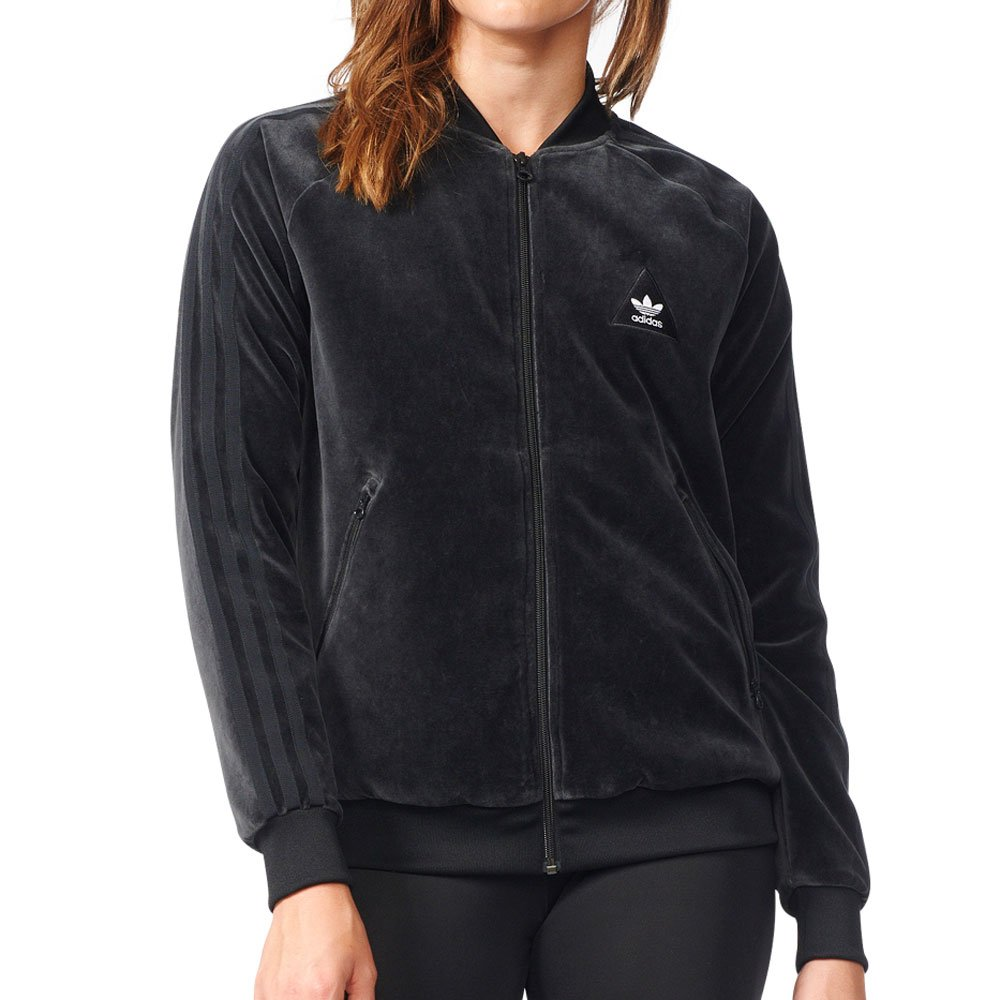 Adidas Originals Pharrell Williams hu Superstar Women's Jacket Black br1865 (Size M) by adidas