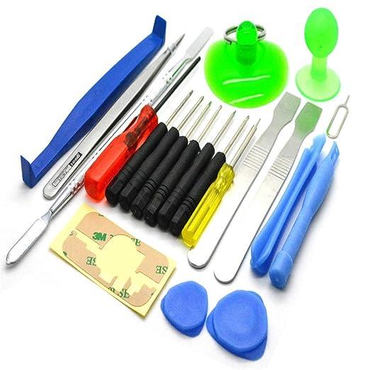 LUVODI Reparatur Öffnungs Werkzeug 21 in 1 Handy Reparatur Werkzeug Set für Smartphone Tablet Laptops Elektronik