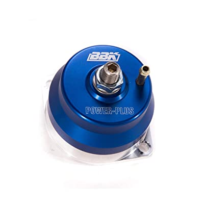 BBK 1707 Fuel Pressure Regulator - Fully Adjustable - CNC Machined Billet Aluminum - Direct Fit for Ford Mustang 5.0 And 302/351 EFI Applications: Automotive