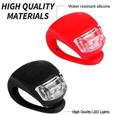 Amazon.com: DaoAG-Outdoor - Juego de 4 faros LED de silicona ...