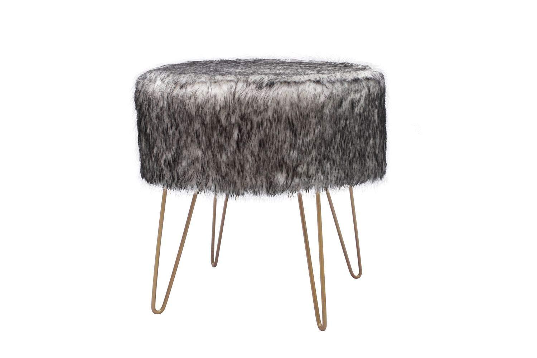 Kayoom cappotto sgabelli design sgabello sgabello imbottito oro