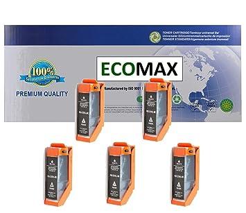 Amazon.com: ECOMAX PGI-250XLBK - Cartucho de tinta grande ...