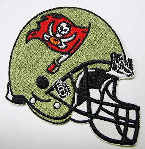 (NFL Tampa Bay Buccaneers Embroidered Helmet Patch 3 1/2