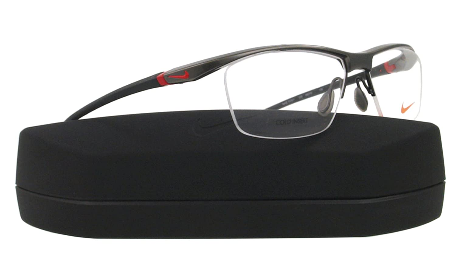 617b9b1f90 Amazon.com  Nike Eyeglasses NK 7070 1 GREY 035 NK7070 56  Nike  Health    Personal Care