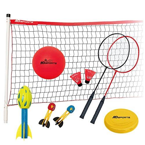 MD Sports 5 in 1 Backyard Game Combo ()