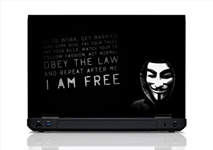 Hacker Laptop Skin (15 6 Inch Screen)