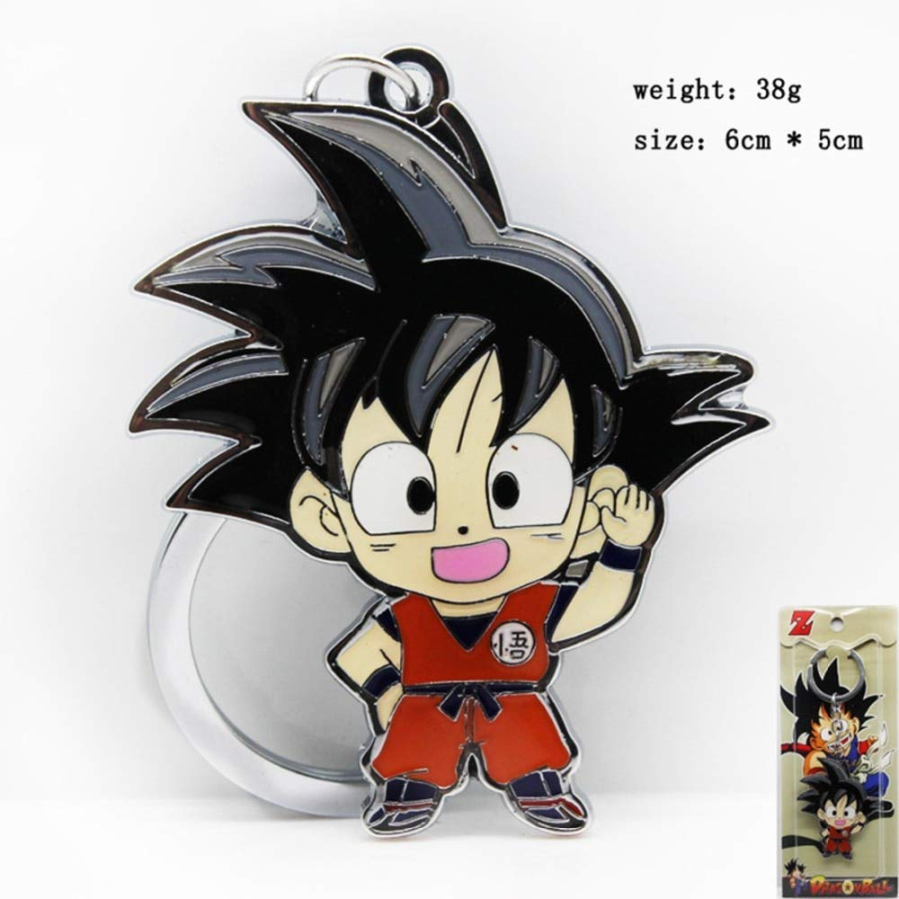 TUDUDU Cartoon Dragon Ball Son Goku Llaveros Collar Colgante ...