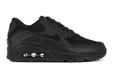 factory price 98427 6e91f NIKE Air Max 90 GS, Unisex Kids Low-Top Sneakers, Black (