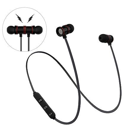 a8bbdce9400 AFRGZFOR Bluetooth Headphones,Wireless Headphones Magnetic in-Ear Stereo  Earphones,6 Hours,