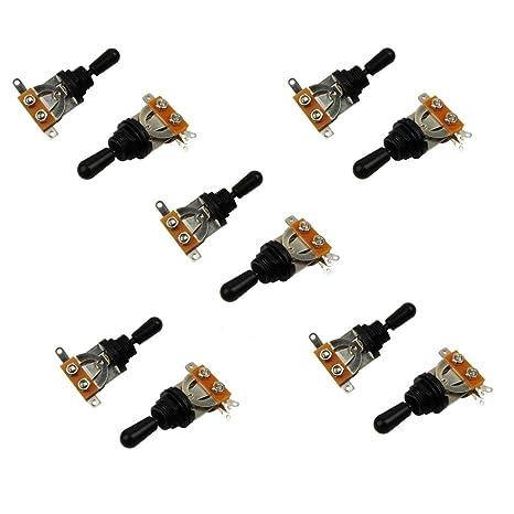 Musiclily Metric Selector de selección de botón para guitarra eléctrica Gibson Epiphone Les Paul, tapa