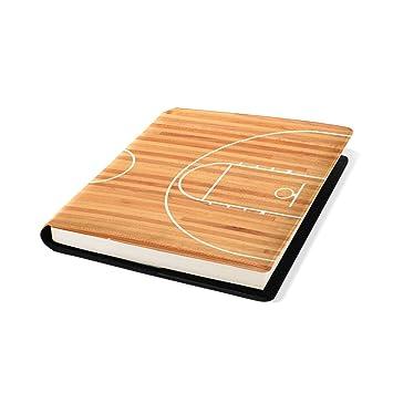 COOSUN Cancha de Baloncesto Libro Medias Estirable Cubierta del ...