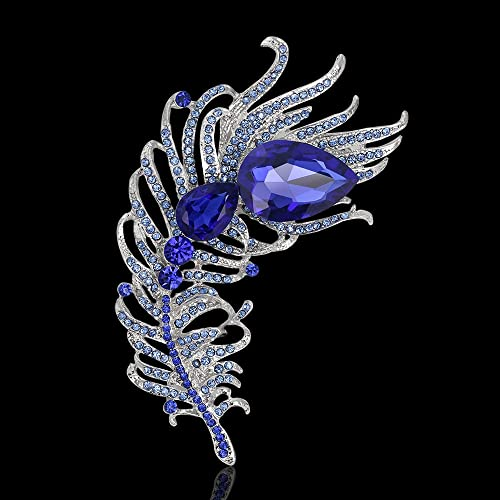 972b41d1ddf93 Amazon.com: Vintage Turkey Fashion Brooches And Pins Big Blue ...