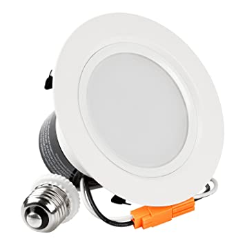 4-inch ENERGY STAR UL-classified 12W Dimmable Retrofit LED Recessed Lighting Fixture  sc 1 st  Amazon.com & 4-inch ENERGY STAR UL-classified 12W Dimmable Retrofit LED ... azcodes.com