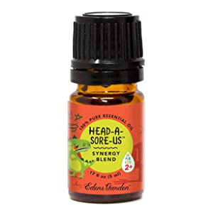 "Edens Garden Head-A-Sore-Us""OK For Kids"" Essential Oil Synergy Blend, 100% Pure Therapeutic Grade (Child Safe 2+, Headache & Sleep) 5 ml"