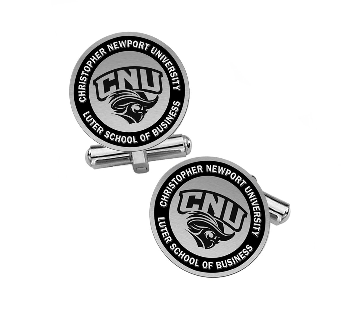 Luter School of Business Cuff Links | Christopher Newport University by College Jewelry