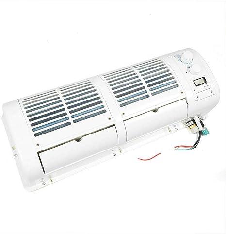 Enfriador de Aire Acondicionado de 200W 12V para Cami/ón de Coche Caravana Autob/ús Aire acondicionado de Pared Kit de Ventilador de Enfriamiento de Aire Acondicionado