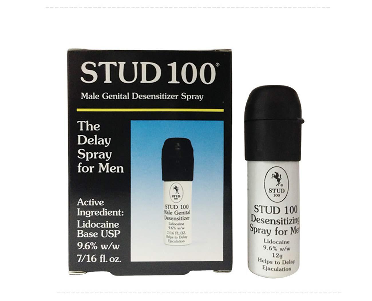 Stud 100 Male Genital Desensitizer Spray, 7/16- Fl. Ounce Box (Pack of 2)