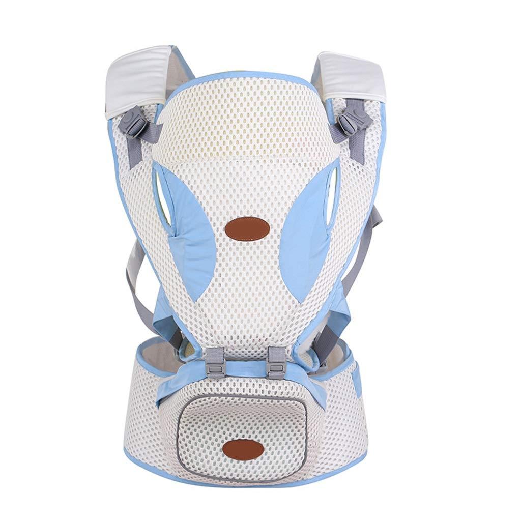 Babytrage, Atmungsaktive Riemen Ergonomische 100% Baumwolle Großraumlagerung 11 Tragende Positionen
