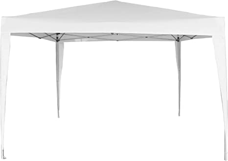 Aktive 62187 - Cenador plegable blanco poliéster UV50 300 x 300 x 240 cm Beach