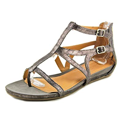 Amazon.com | Kenneth Cole Reaction Lost Time Women's Sandal 7 B(M) US  Pewter | Sandals