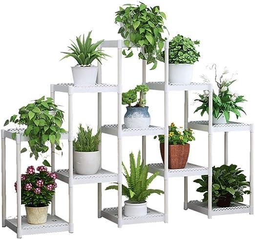 AXHJ Soporte De Plantas, Jardín De Flores Adecuado para La Decoración Interior Y Exterior para Los Amantes del Hogar Y El Jardín.: Amazon.es: Hogar