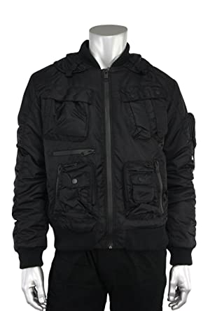 67bd4fe97a9 Jordan Craig Stealth Utility Bomber Jacket at Amazon Men's Clothing ...