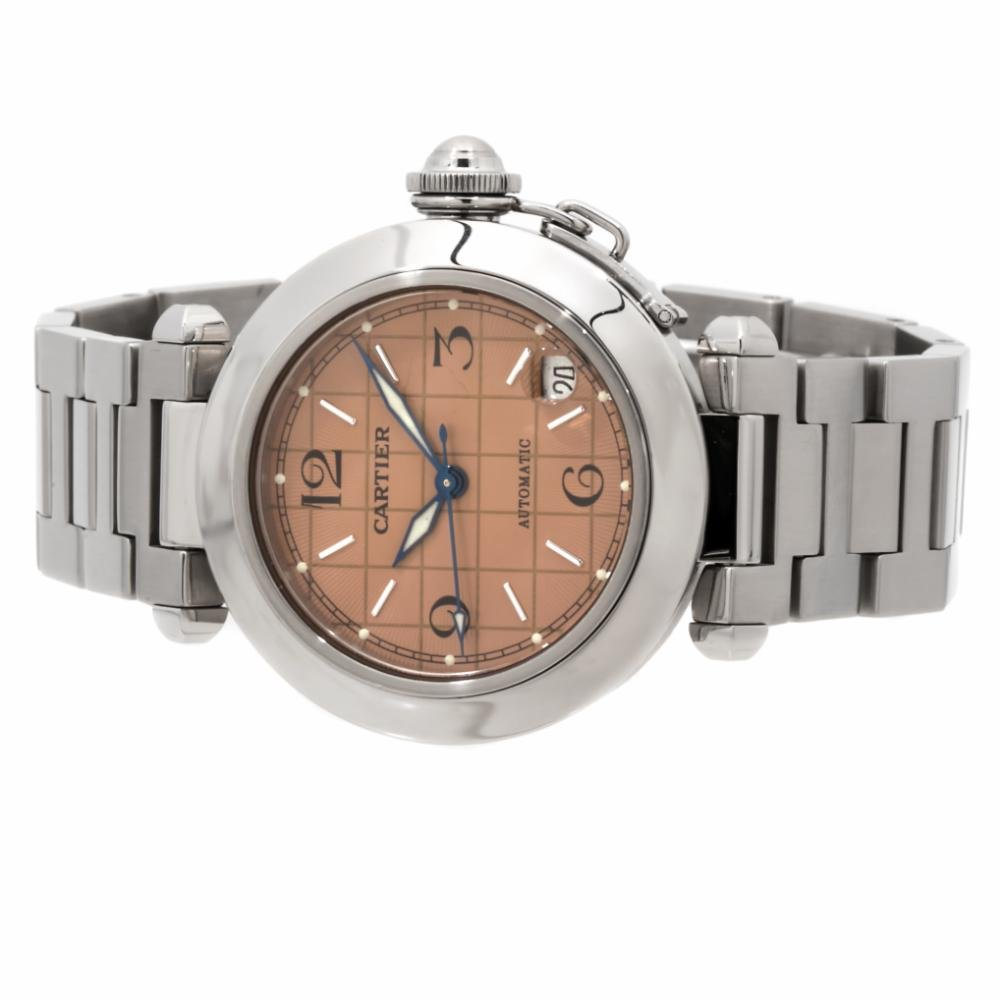 Cartier automatic-self-wind womens Watch W31023M7 (Certified Pre-owned)