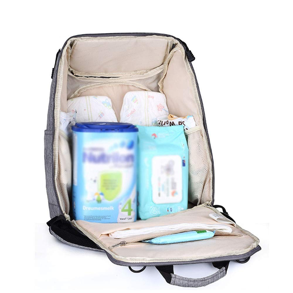 Stroller Organizer Stroller Organizer Bag Diaper Bag Waterproof Travel Backpack for Carrying Bottles, Diapers,Clothing, Toys & Snacks Etc 3 Colors Parents Stroller Organizer Bag by DHUYUN (Image #3)