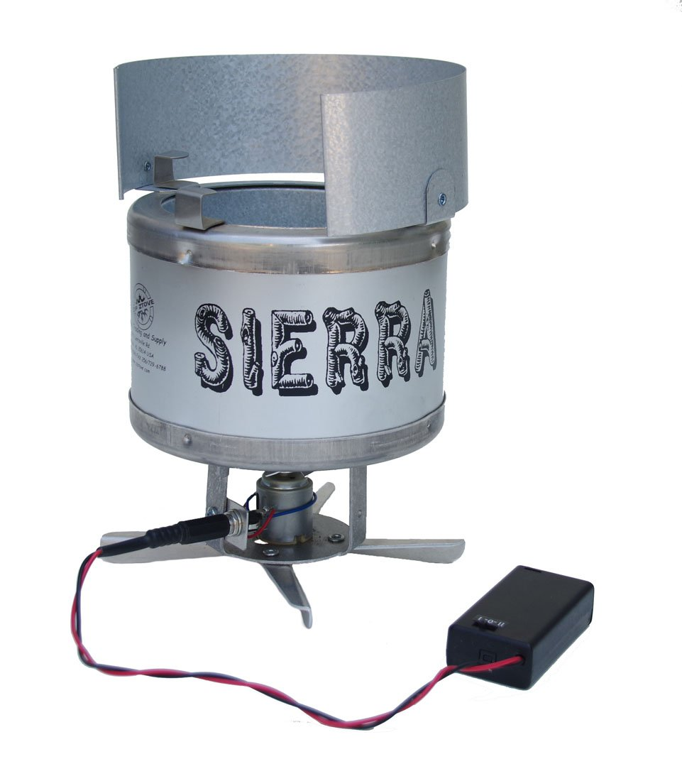 Sierra Stove lightweight woodburning backpacking stove With Upgrade Kit