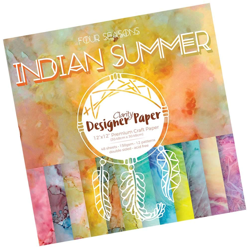 Clarity Designer Paper 30,5 x 30,5 cm Indian Summer
