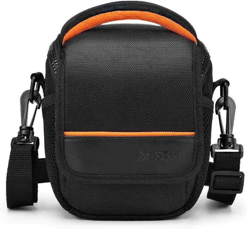 Sony A6000 A73 Mirrorless Camera Shoulder Case Waterproof Rain Cover FOSOTO Compact SLR//DLSR Stylish Camera Bag Case Compatible for Nikon P900 B500 D3500 D5600 Canon EOS T6 T7i T5