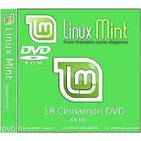 Linux Mint 18 Cinnamon 64 bit (DVD)
