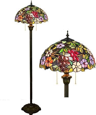 Lámpara de pie brillante Torchiere Decoración lámpara de la lámpara del jardín de 16 pulgadas de