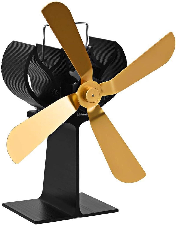 YH-fan Ventilador de la Chimenea, Ventilador de energía térmica para el hogar, Ventilador de Estufa de leña con energía térmica para leña/Quemador de leña/Chimenea