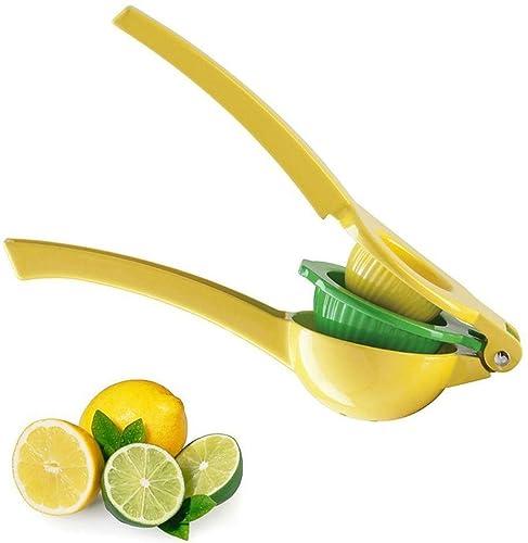 Limón Manual Exprimidor - exprimidor - exprimidor - 2 diseño de cuencos de aluminio limón naranja Exprimidor: Amazon.es: Joyería